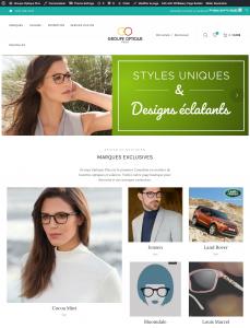 Webshop Groupe Optique Plus
